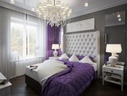 Chambre à coucher dans une maison de campagne au bord de la rivière