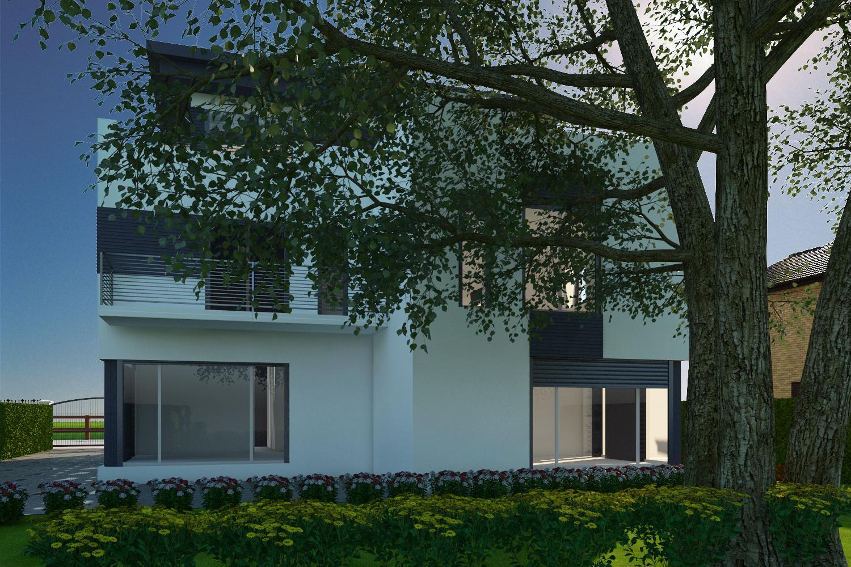 हाई-टेक हाउस प्रोजेक्ट 3d max vray 3.0 में प्रस्तुत छवि