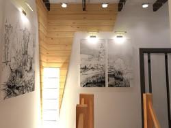 Moderna casa de 2 pisos madera