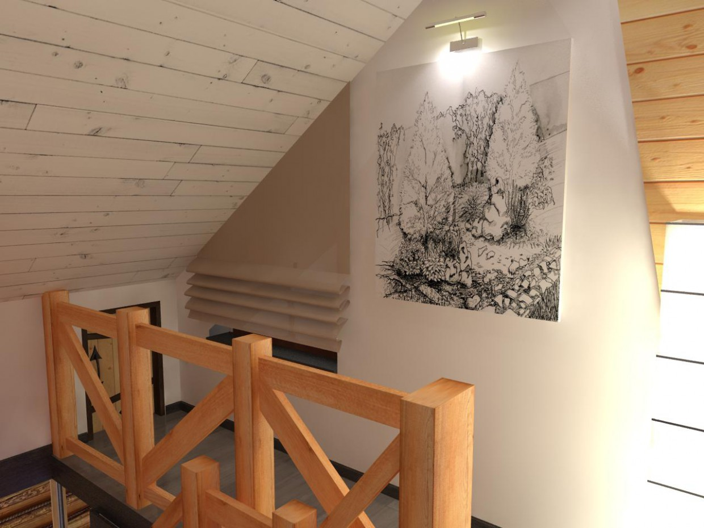 Casa di 2 piani in legno moderna design e visualizzazione for Piccoli piani casa moderna casetta