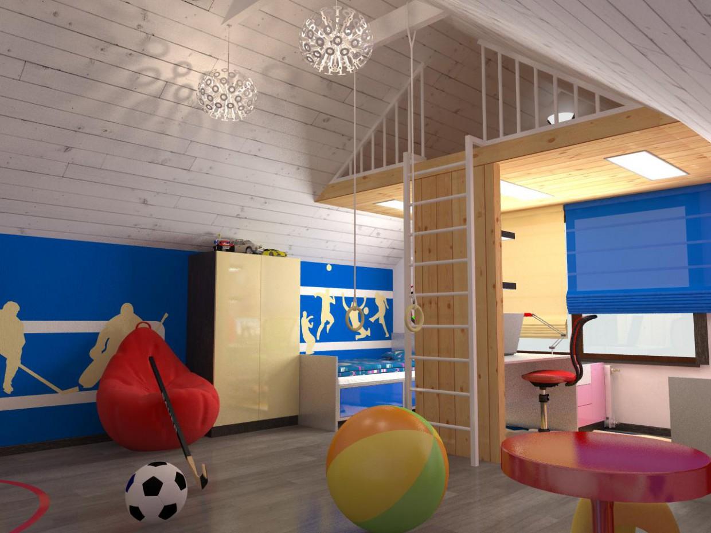 casa di 2 piani in legno moderna design e visualizzazione