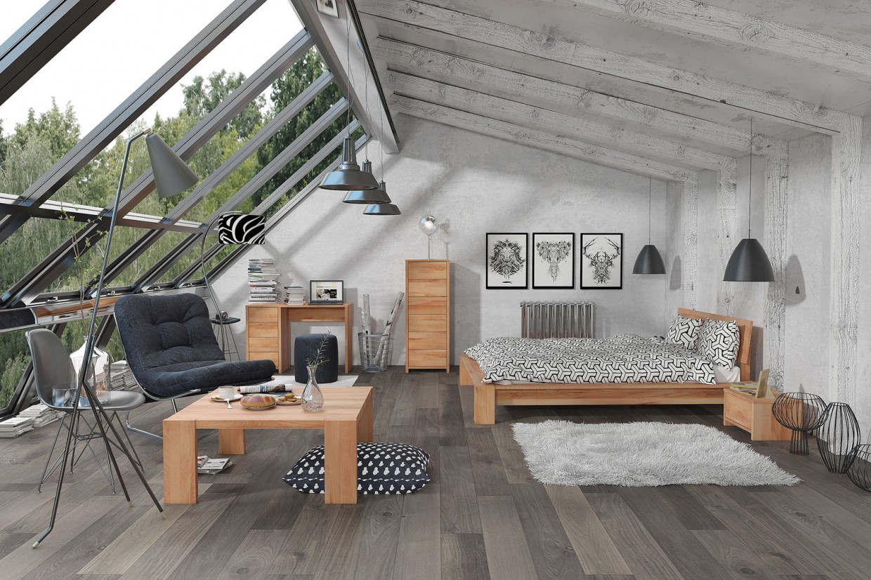 Modern Loft in 3d max vray 3.0 image