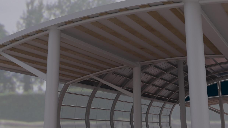 imagen de Estación de en 3d max vray
