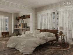 बोहेनिया बेडरूम...
