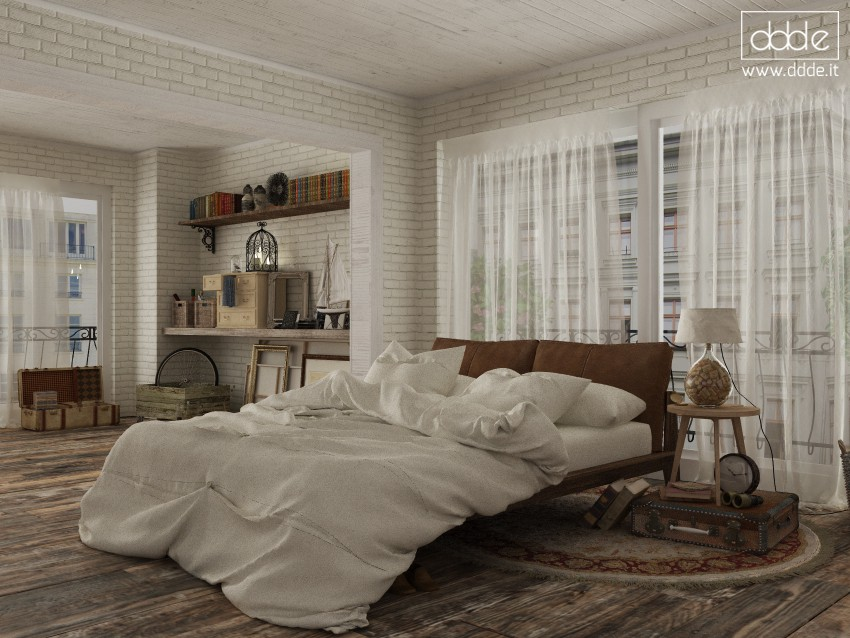 Bohemian bedroom... in Cinema 4d Other image