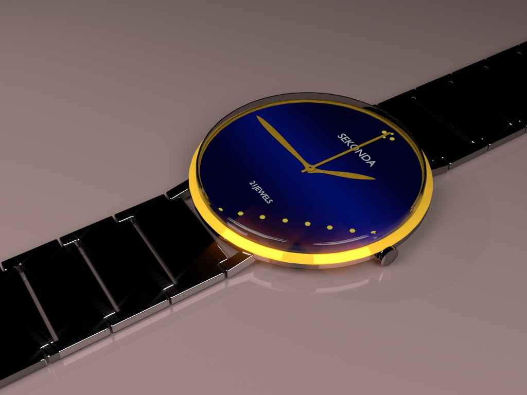Watch in Blender Other image
