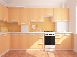 kitchen ... chipboard!