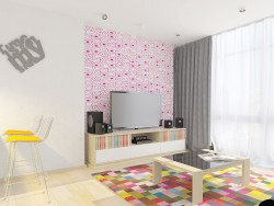 design apartments «Rainbow»
