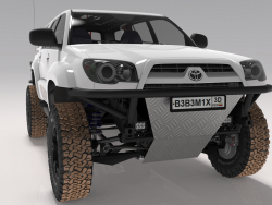 Toyota 4Runner 2005 3D model 10$