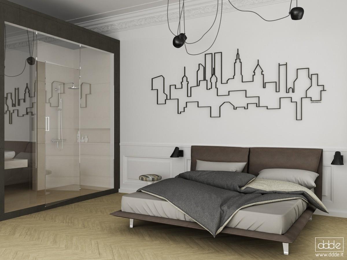 visualización 3D del proyecto en el Dormir en Filadelfia... Cinema 4d render Other eloisa.conti