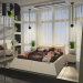 One room flat in 3d max vray 2.0 image