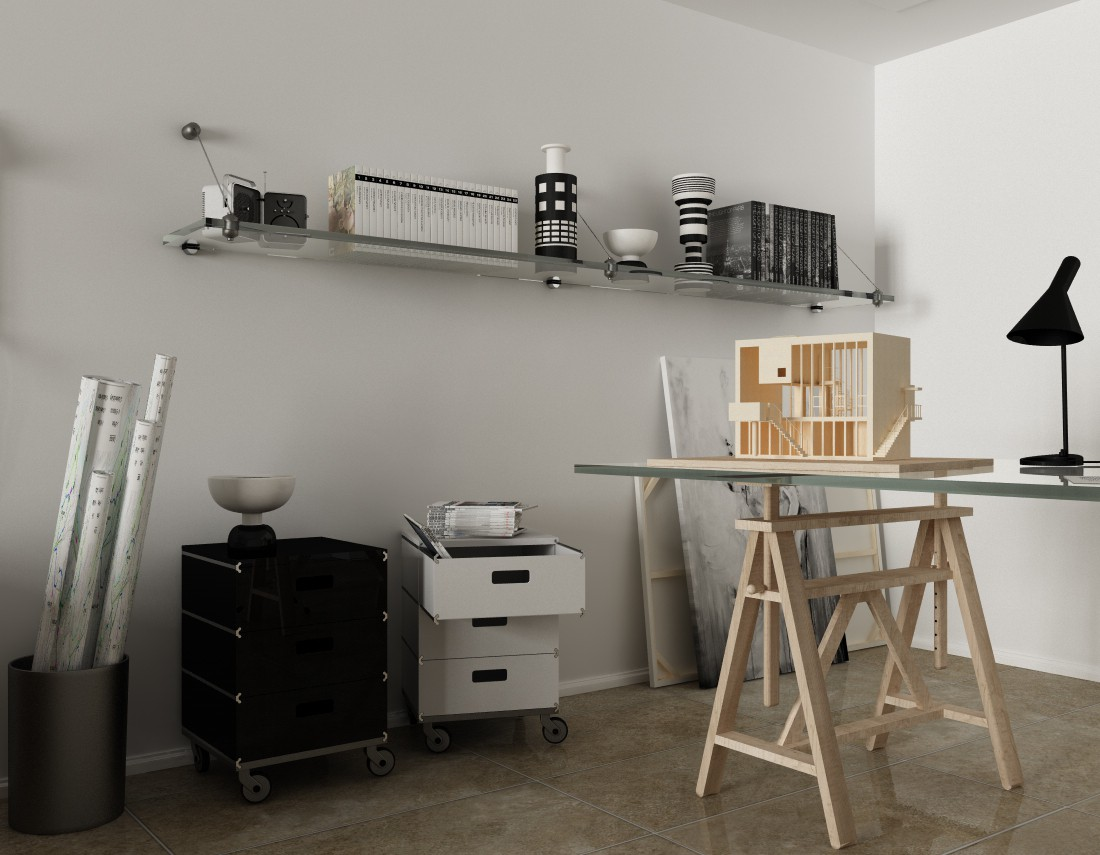Architect's room... in Cinema 4d Other image