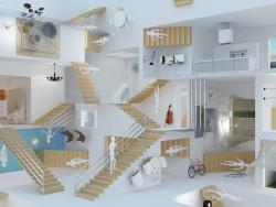 Escher - relativité