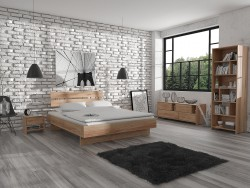 Urban Scandinavian Bedroom