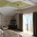 Interior design of the bedroom in the attic in Chernigov in 3d max vray 1.5 image