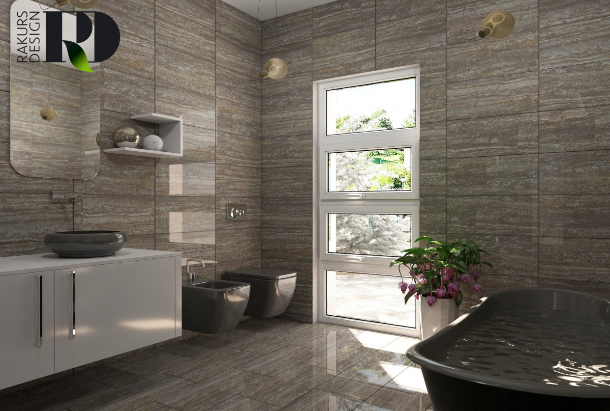 Lavatory in 3d max vray 2.0 image