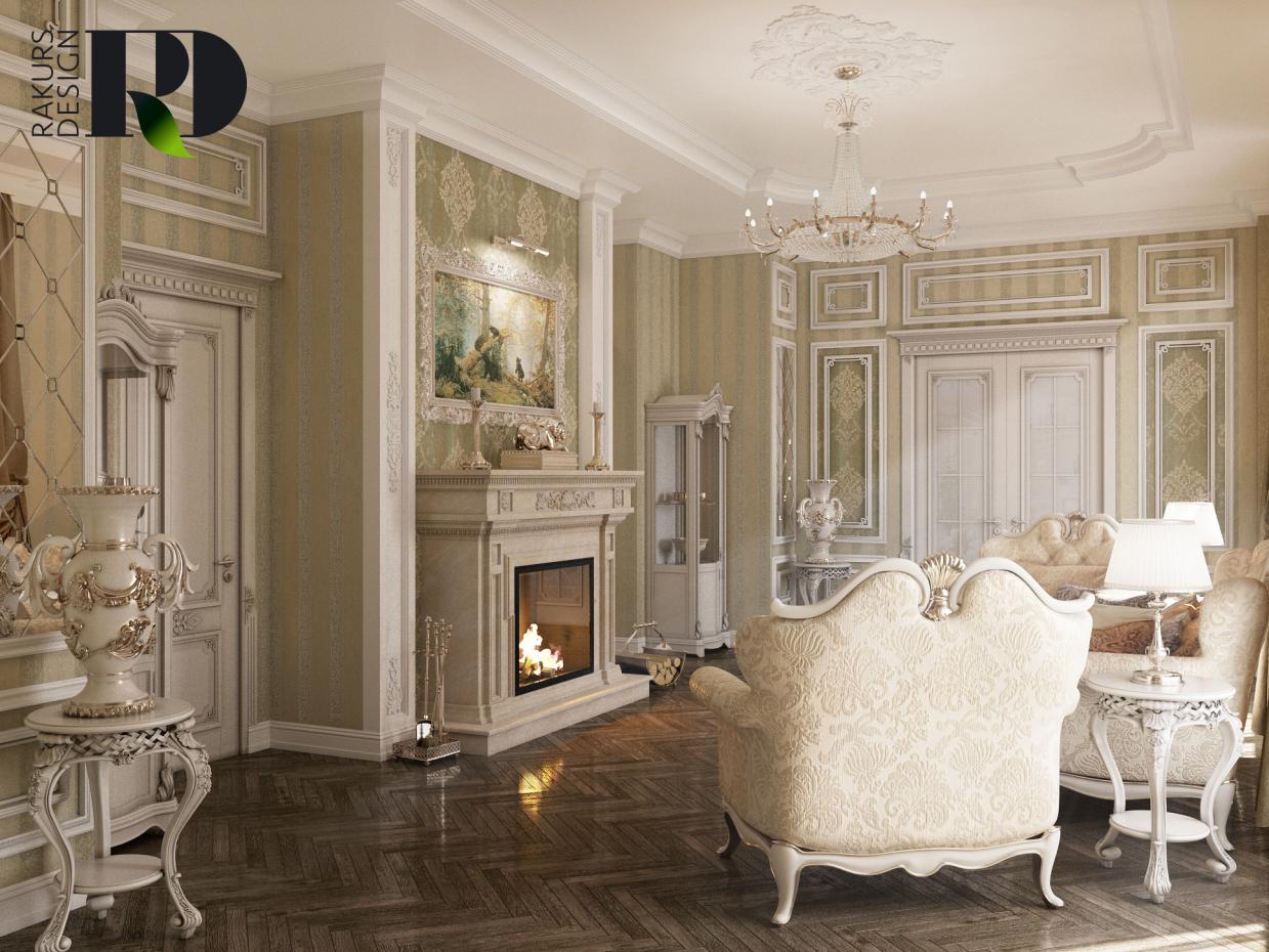 Wohnzimmer in 3d max vray 2.0 Bild