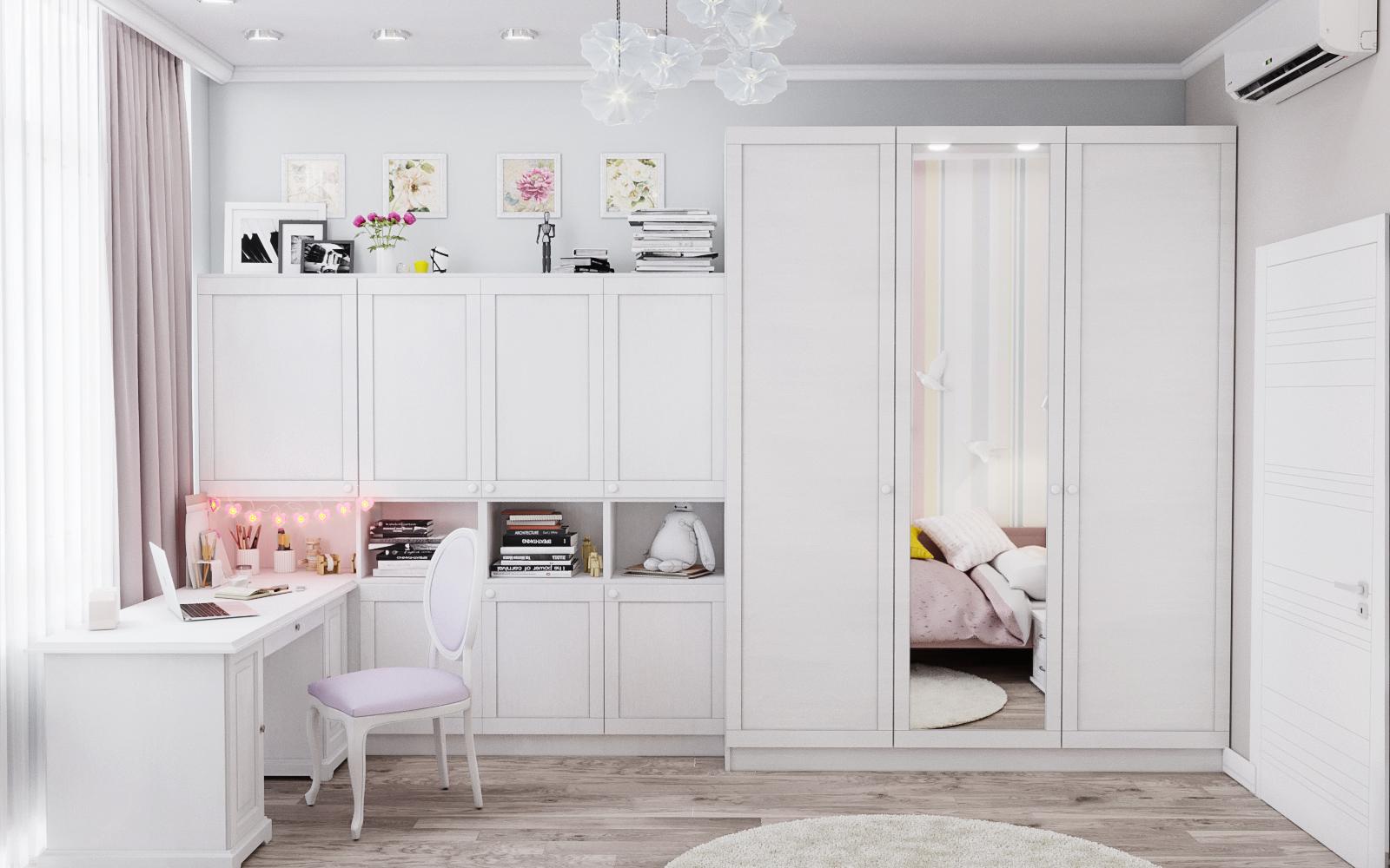 Wohnung in Odessa in 3d max corona render Bild