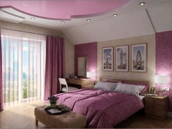 Interior design of the guest bedroom in Chernigov