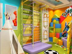 Дизайн интерьера детской игровой комнаты в Чернигове