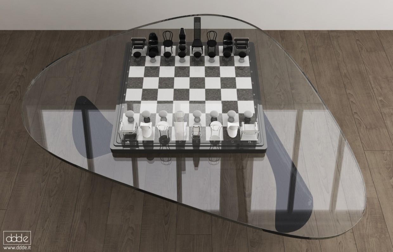 Шахматы/стулья в Cinema 4d Other изображение