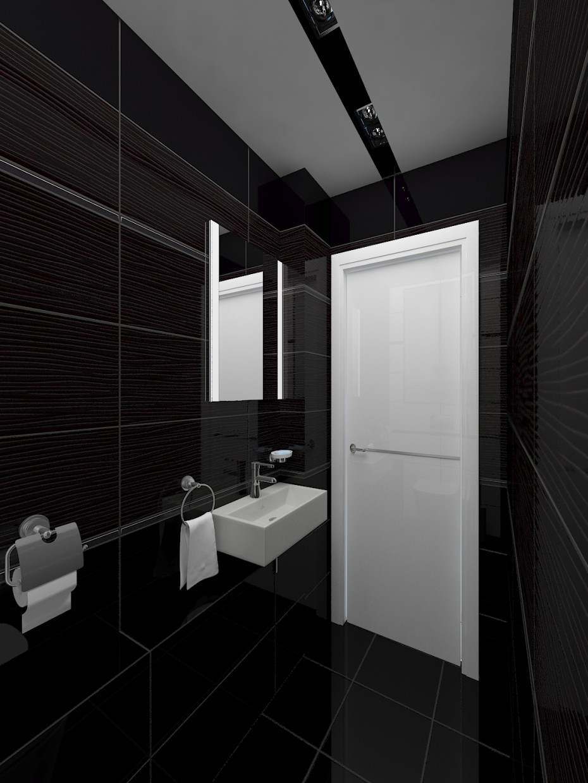 imagen de Blanco y negro (WC) en 3d max vray