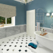 3d visualization of the project in the Design and visualization of the bathroom. 3d max, render vray 3.0 of Mutou Tok