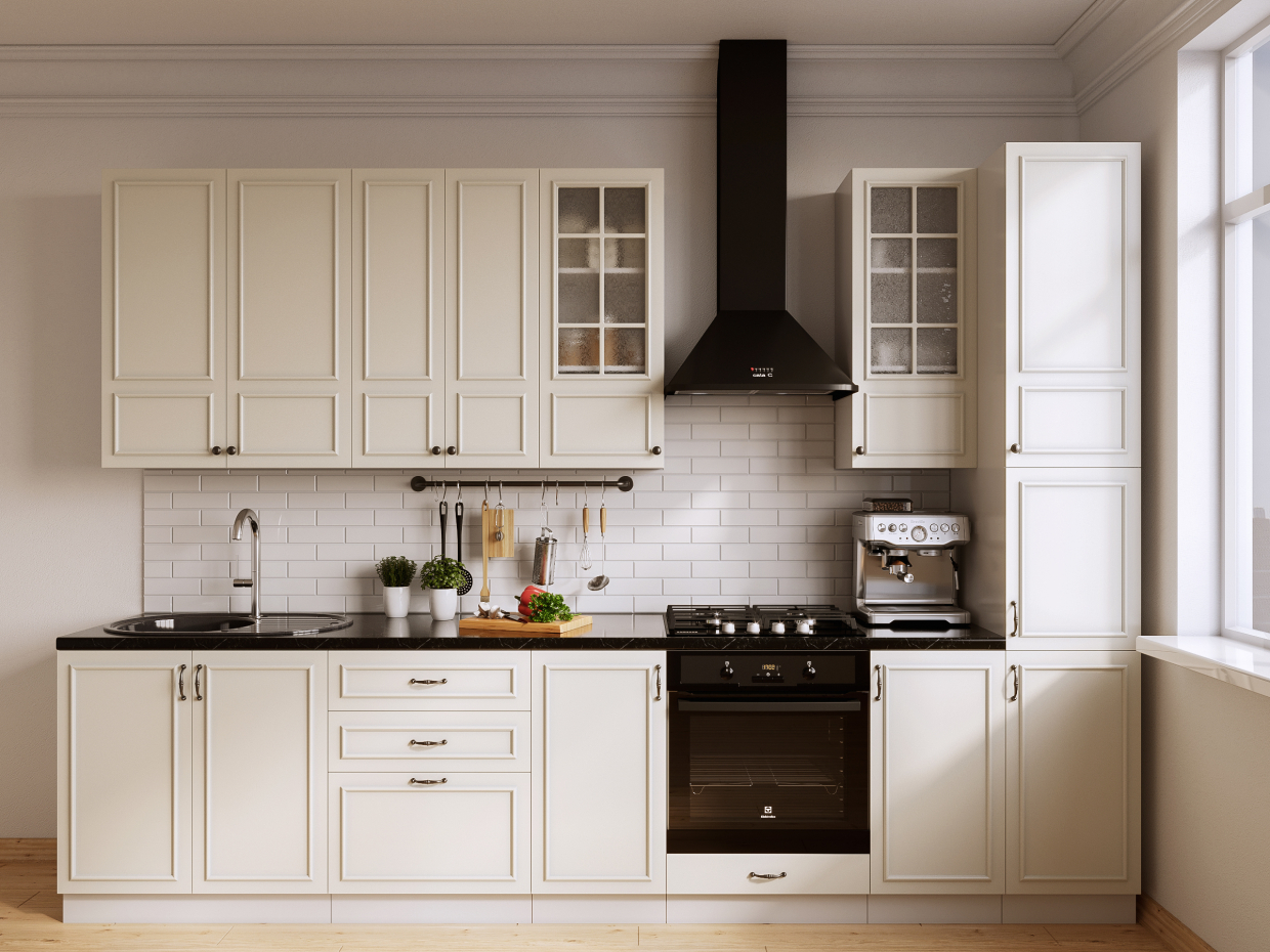 Kitchen for the catalog in 3d max corona render image