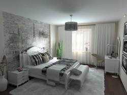 Спальня современный прованс