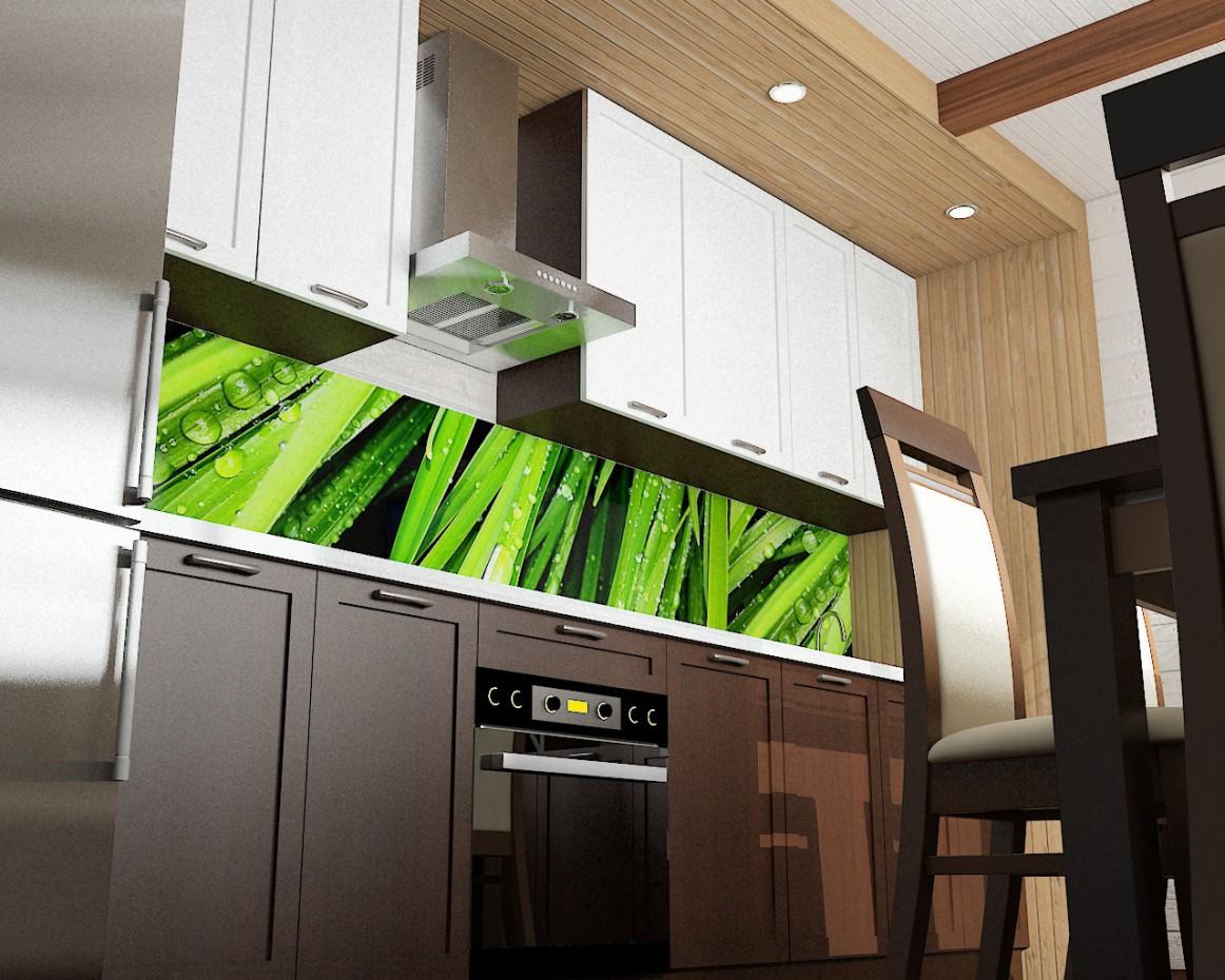 кухня на базі відпочинку рибалок в 3d max vray зображення