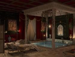 Bagno romano di ricreazione