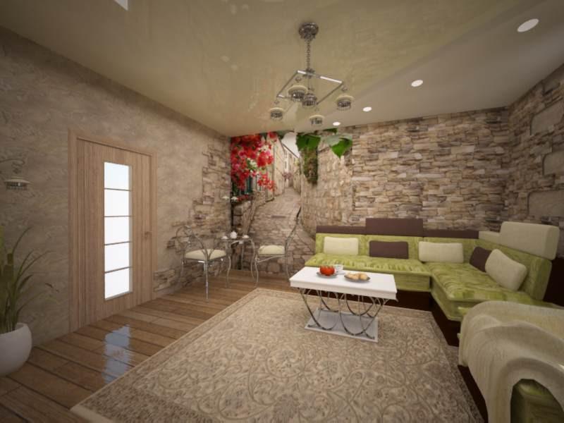 imagen de Pequeña sala de estar en 3d max vray