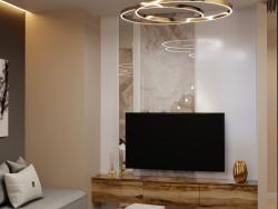 soggiorno moderno vintage