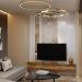 living room modern vintage