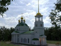 Успенська церква - Бор