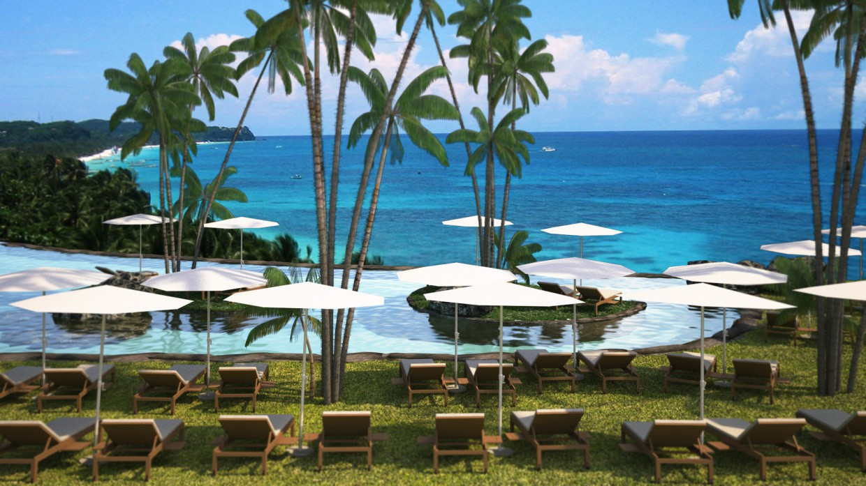 Plasa beach in 3d max vray 3.0 image