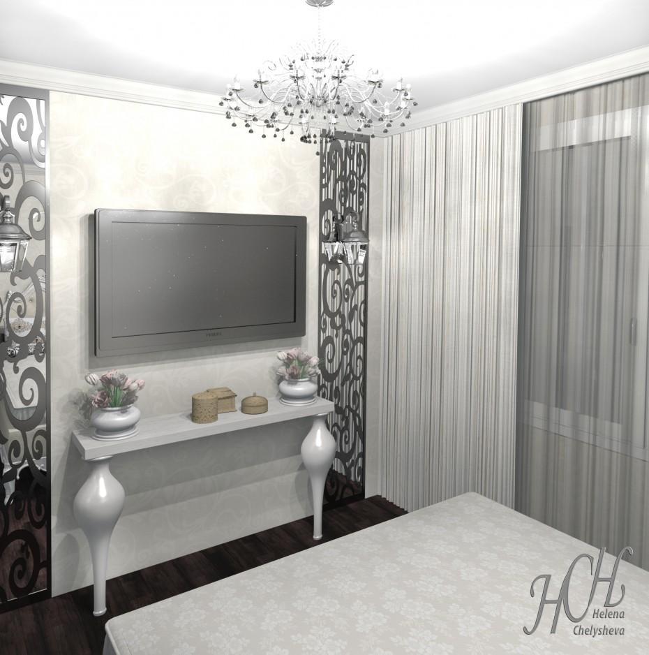 Спальня, совмещенная с маленькой кухней для парикмахера, работающего на дому в Другое Other изображение