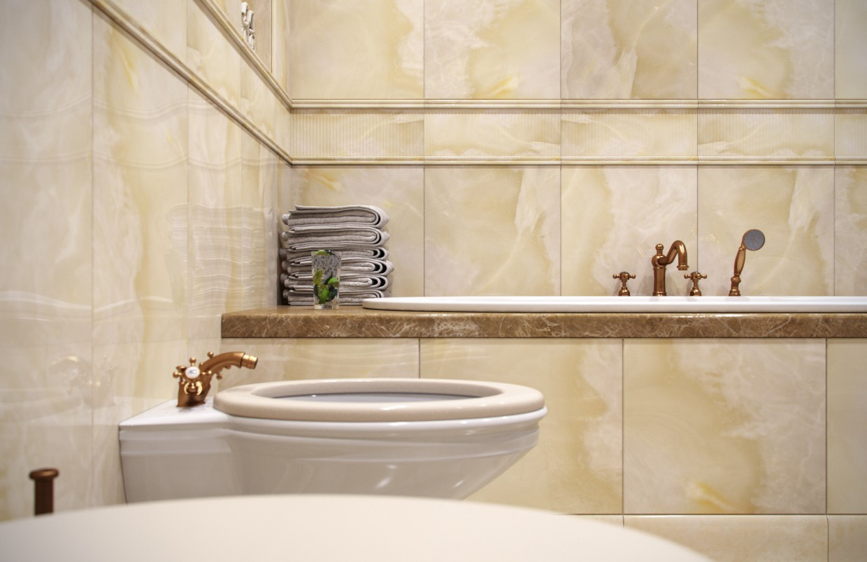 Bath in 3d max corona render image