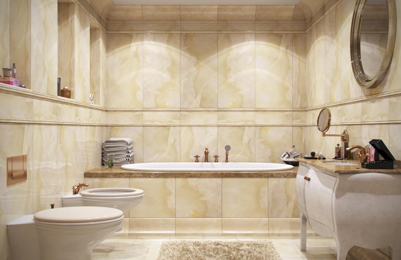 Bath в 3d max corona render изображение