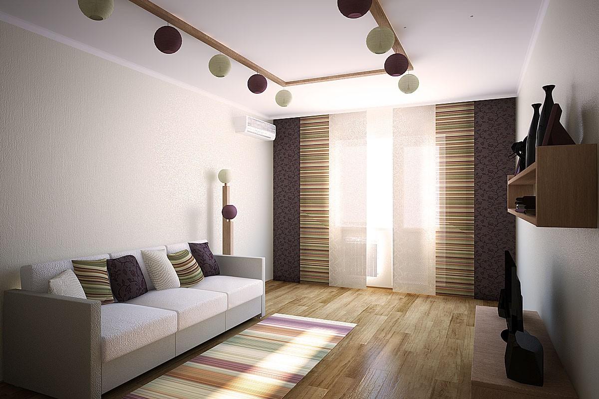 imagen de Una sala de en 3d max vray