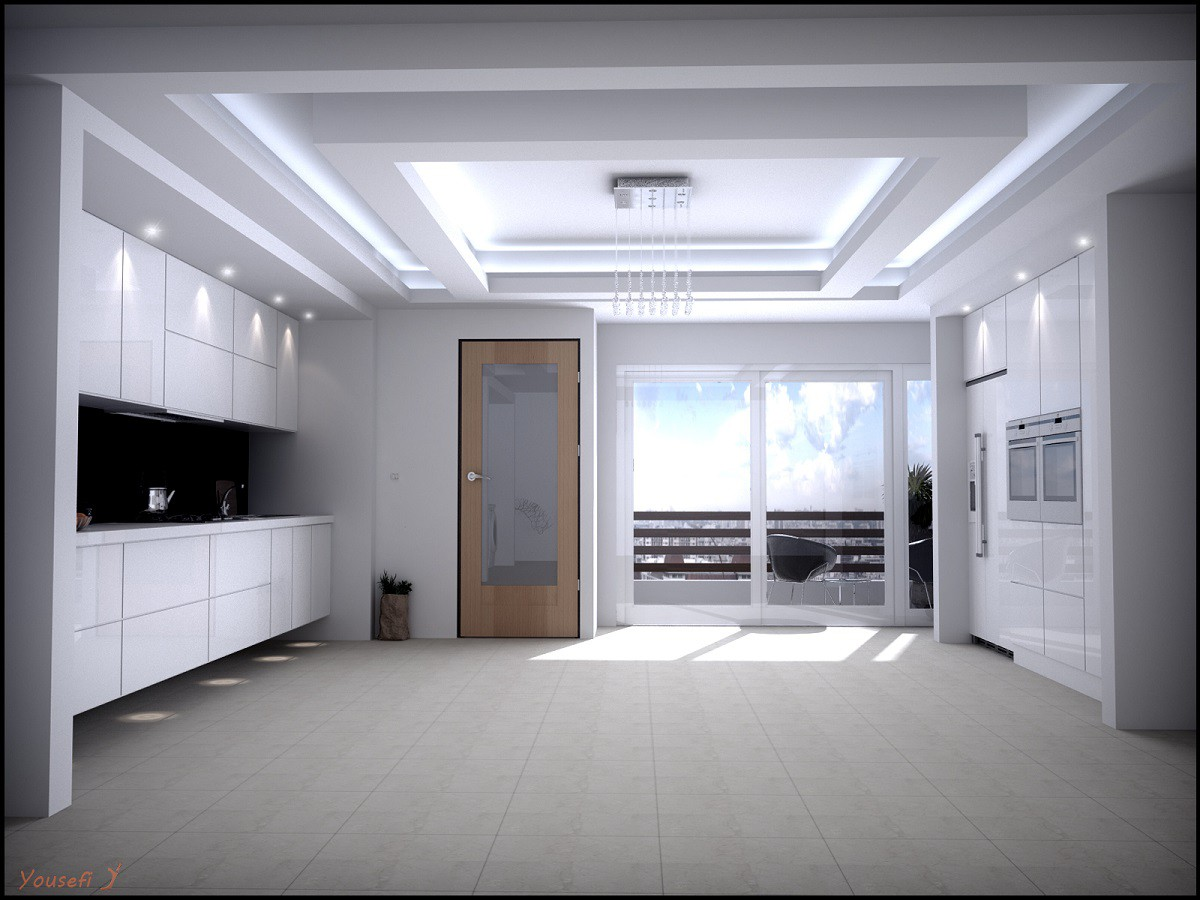kitchen_ajam in 3d max vray image