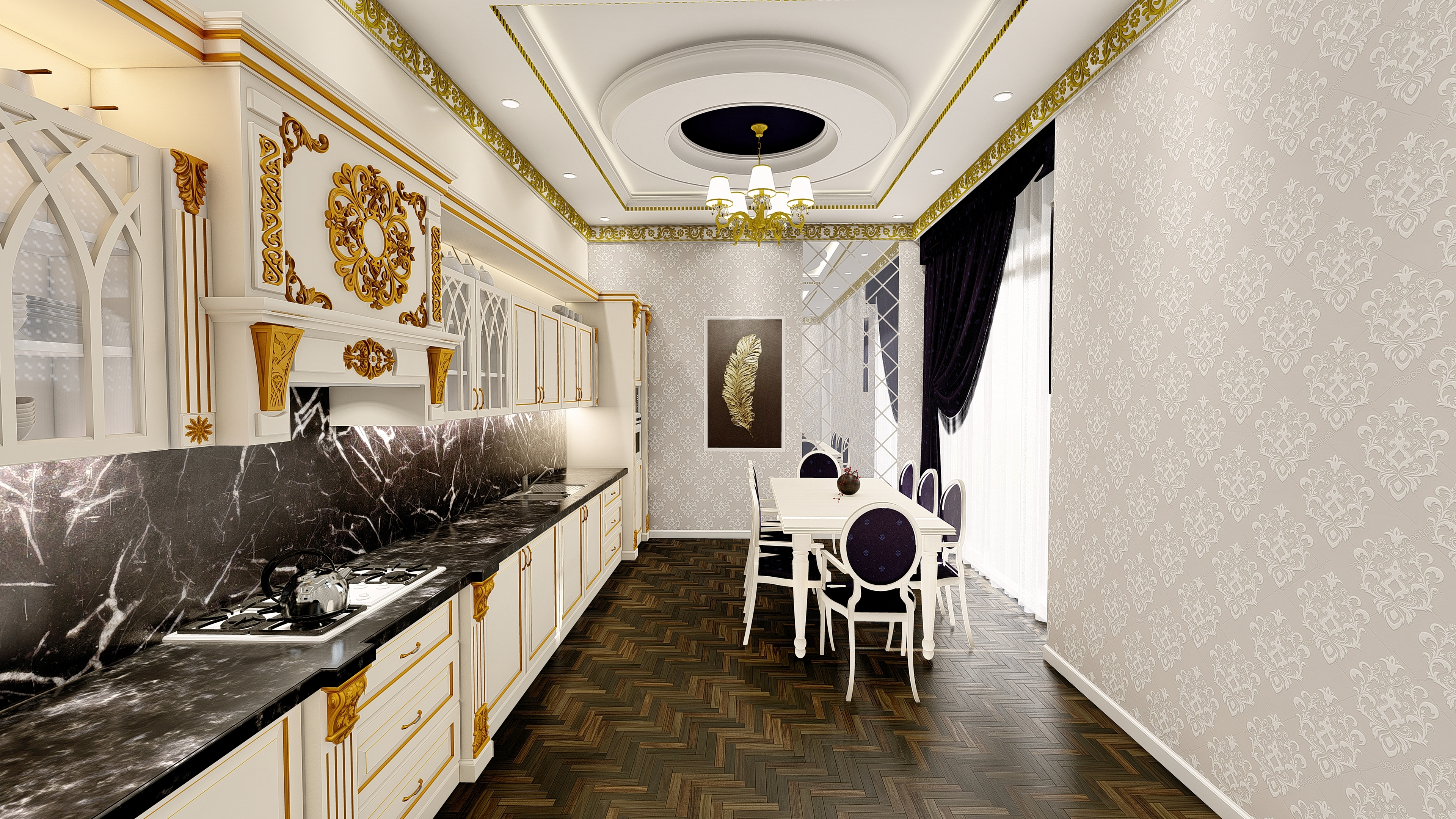 Classic kitchen in ArchiCAD Other image
