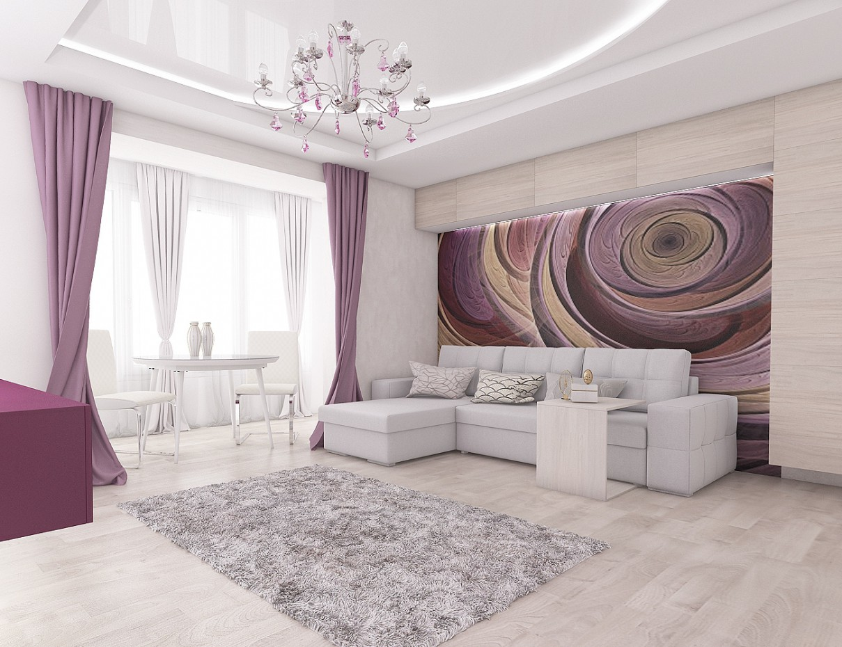 3d visualization of the project in the Purple 3d max, render vray 2.5 of NatiLitvinenko