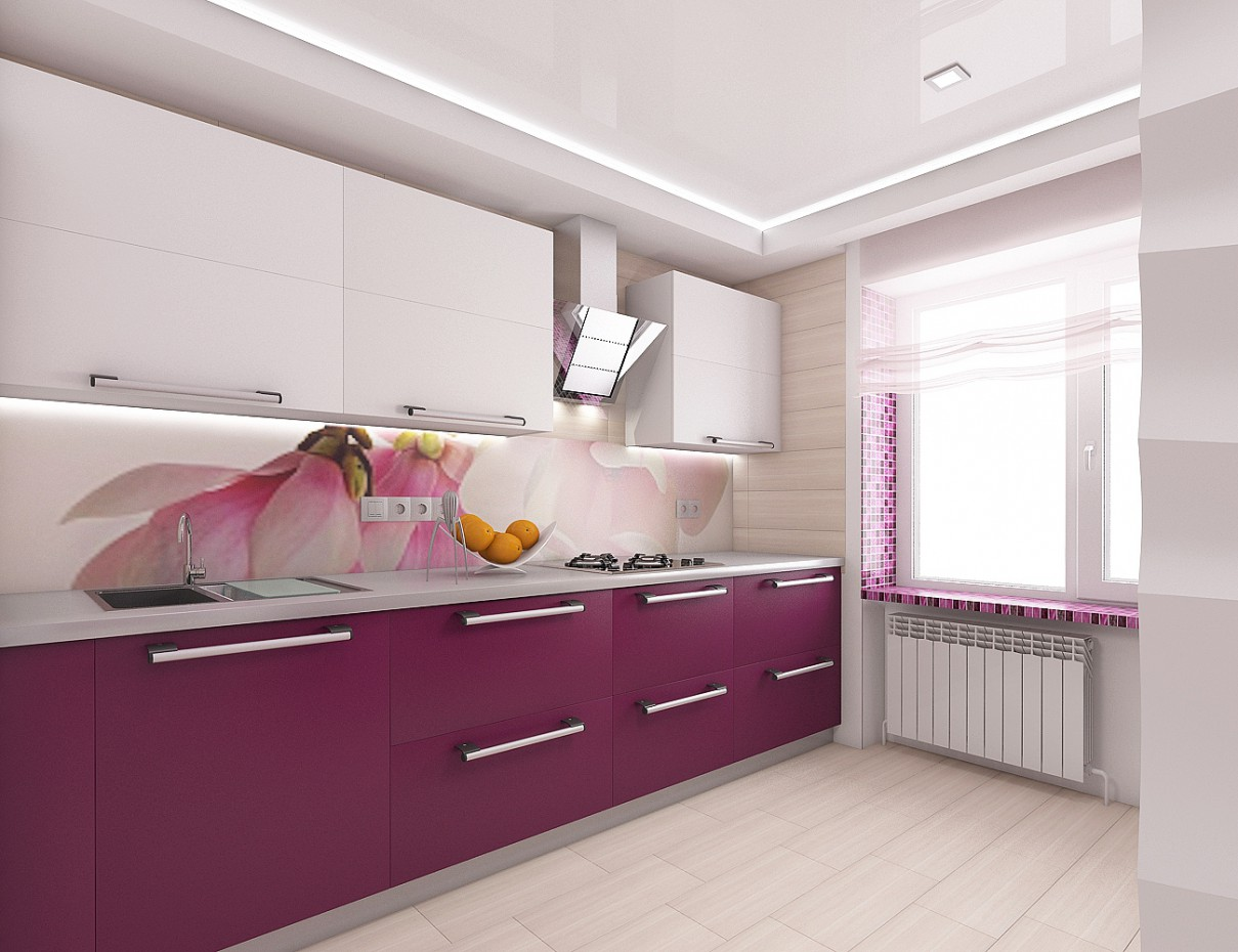Purple in 3d max vray 2.5 image