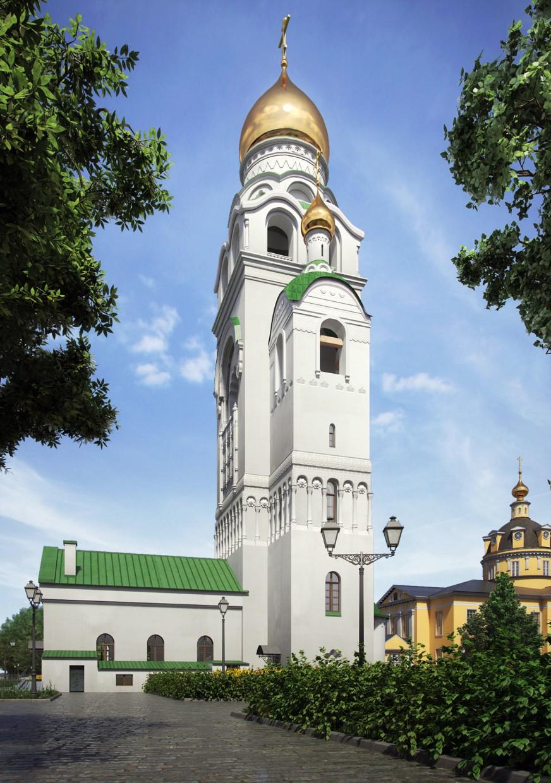 imagen de Rogozhskaya Sloboda en 3d max vray 3.0