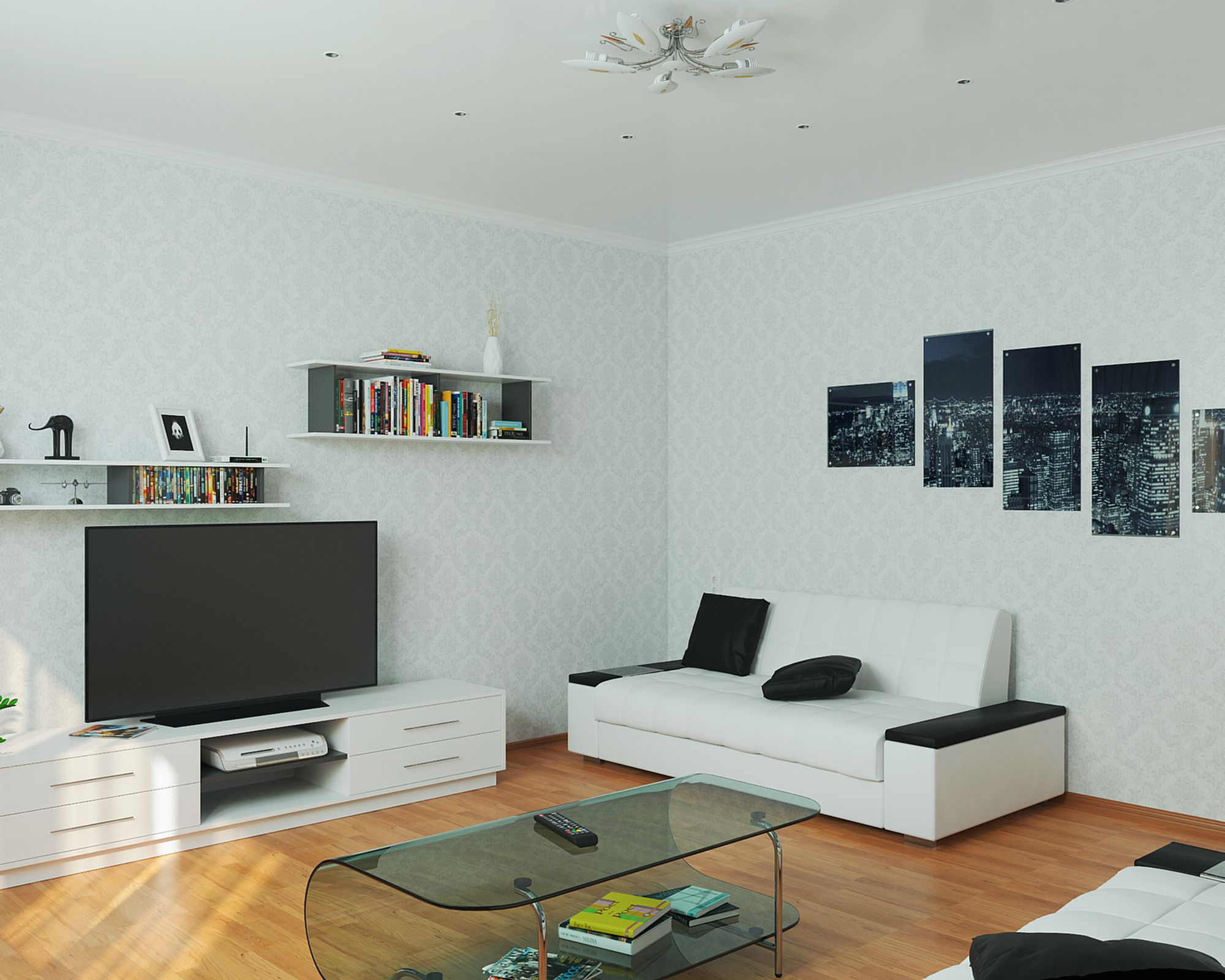 3d visualization of the project in the 3d max, render vray 3.0 of anorexia