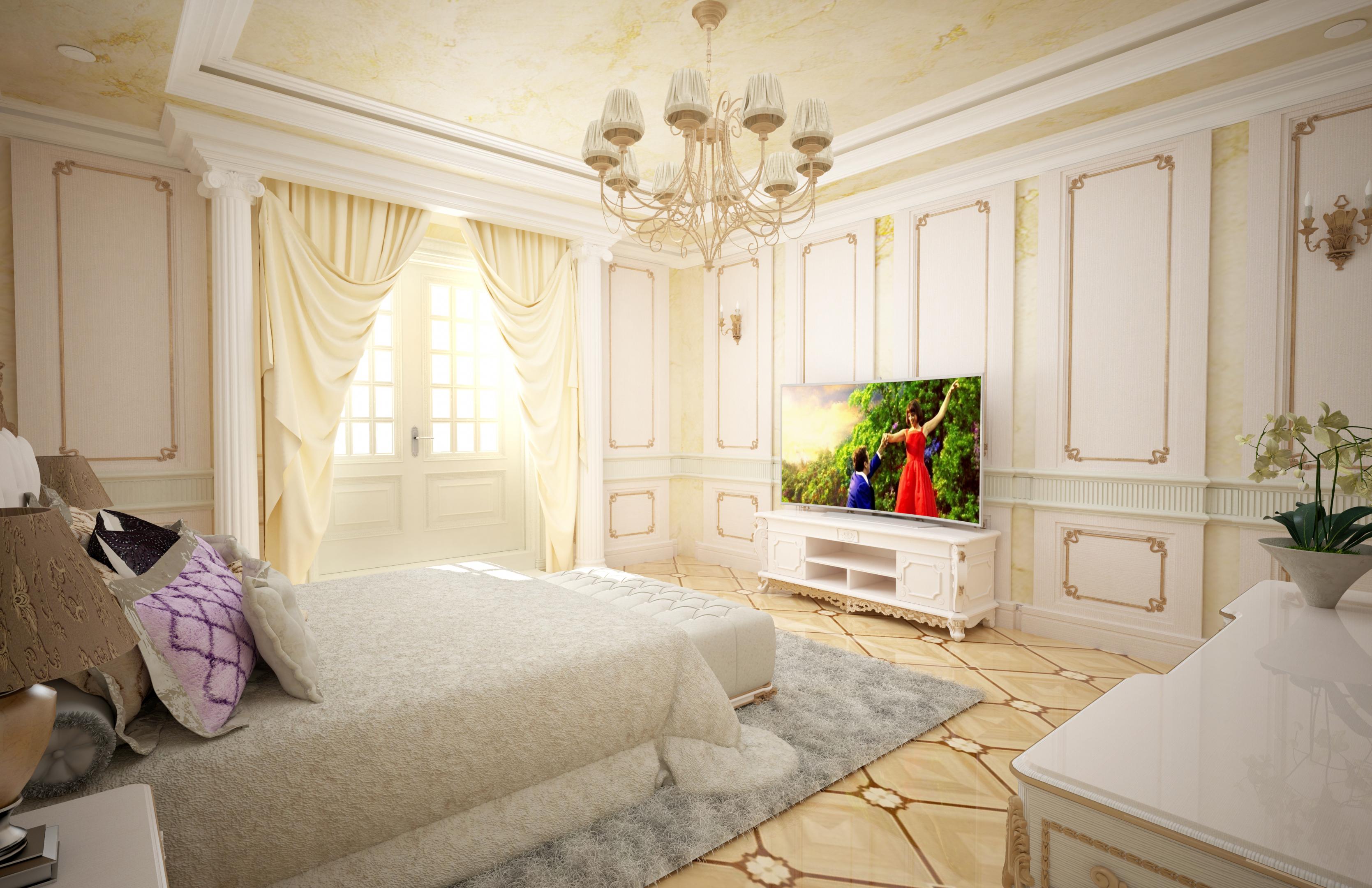 Bedroom in Maya vray 3.0 image