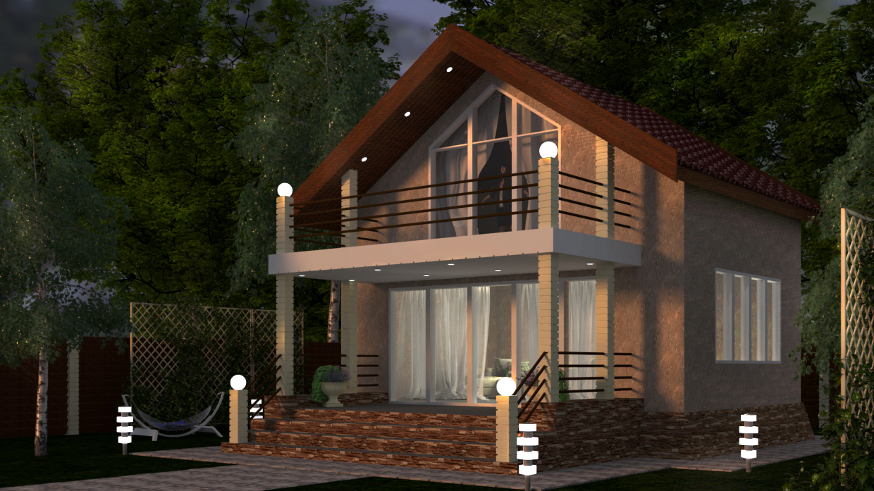 Exterior in 3d max vray 3.0 image