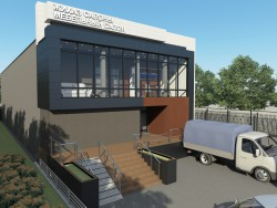 Reconstrução de uma fachada