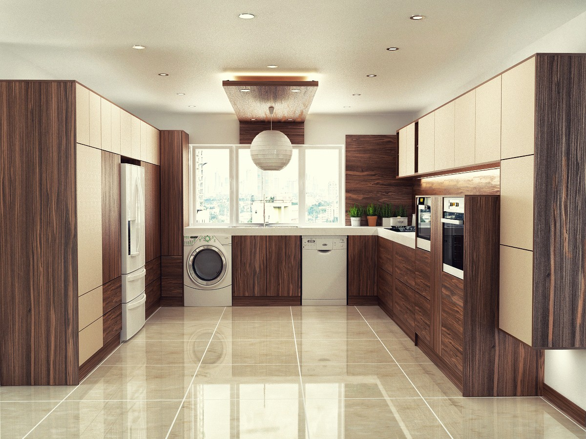 Kitchen in 3d max vray 2.0 image